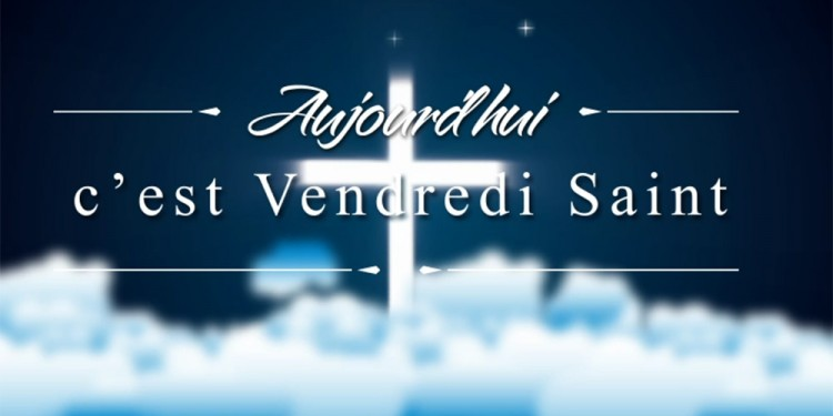 Carte Le Vendredi Saint