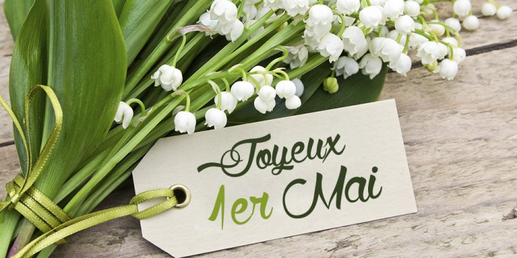 la carte blog carte un peu de muguet pour le 1er mai. Black Bedroom Furniture Sets. Home Design Ideas