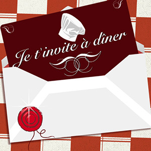 Cartes faire part invitation virtuelles gratuites for Menu pour un diner entre amis