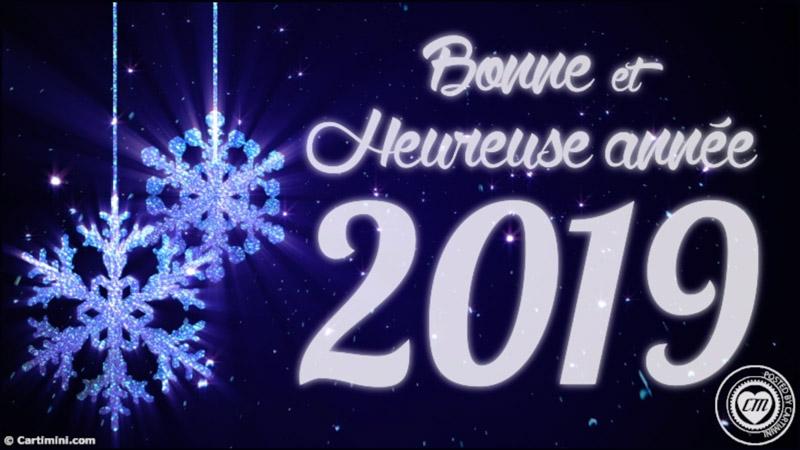"""Résultat de recherche d'images pour """"images animées bonne et heureuse année 2018"""""""